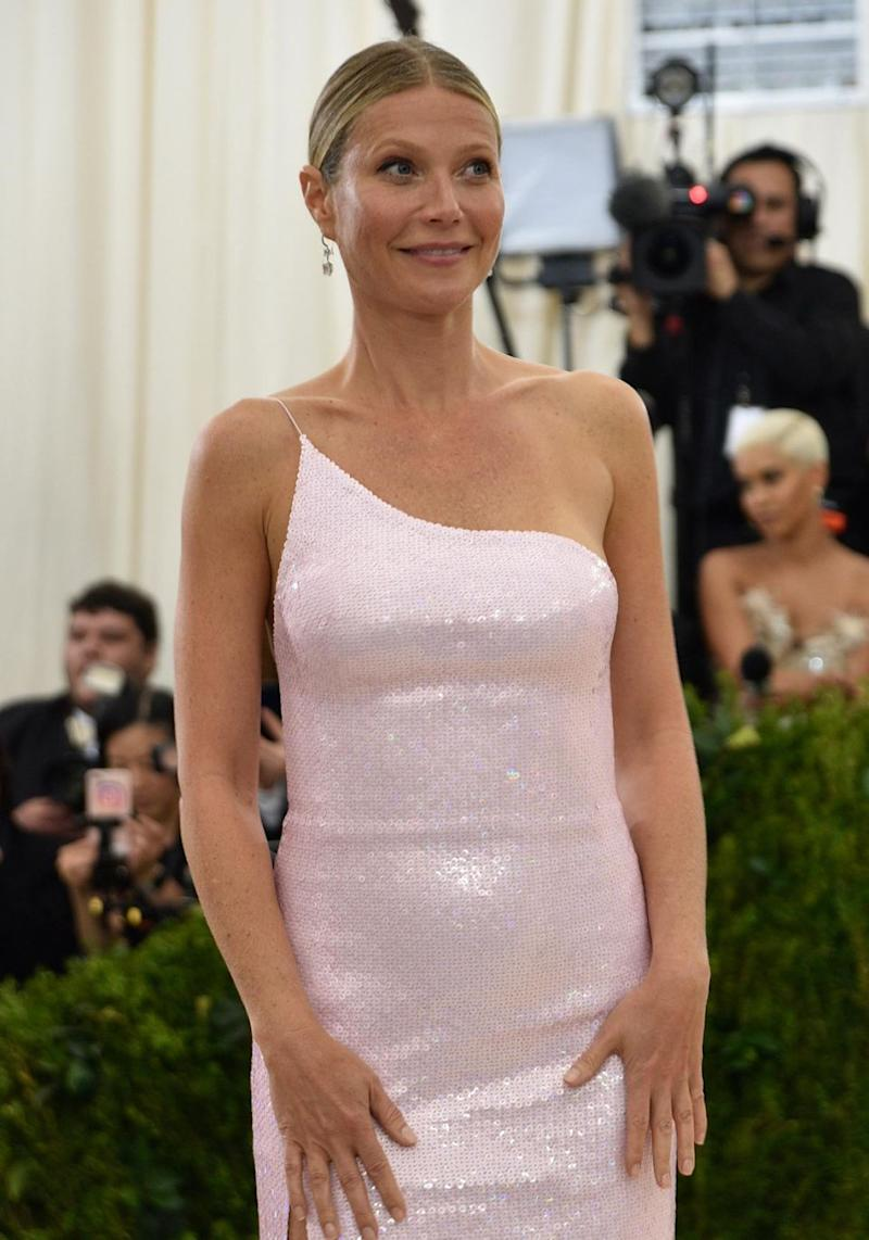 Gwyneth Paltrow's brand Goop has won an award but it might not be something she wants to brag about. She is pictured here at the Met Gala 2017. Source: Getty