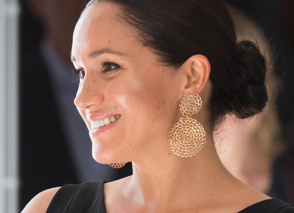 Meghan Markle, the Duchess of Cambridge and Pippa Middleton are all fans of £80 espadrille wedges - which Meghan's worn during her recent royal tour of South Africa [Photo: Getty]