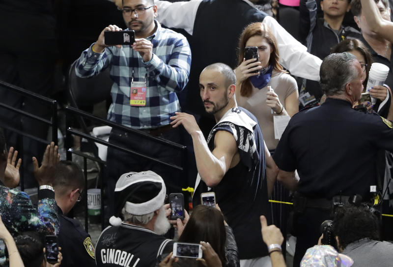 Ginobili returning for 16th National Basketball Association season