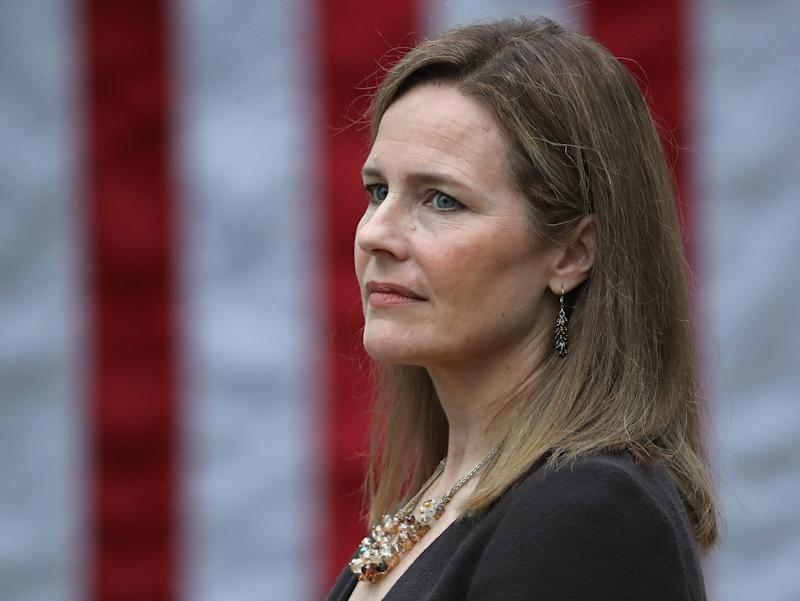 Several Senate Democrats have refused to meet with Supreme Court nominee Amy Coney Barrett before her confirmation process in October. (Getty Images)