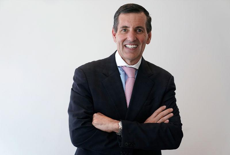 FILE PHOTO: Humana CEO Bruce Broussard poses for a portrait in the Manhattan borough of New York City