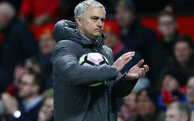 <span>Mourinho claimed he coached Shaw through his appearance against Everton</span> <span>Credit: Rex Features </span>