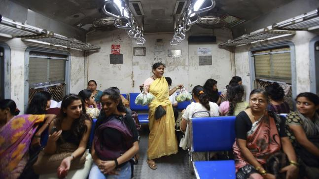 The station on the suburban network of Central Railways has about 41 staff members who are all women.
