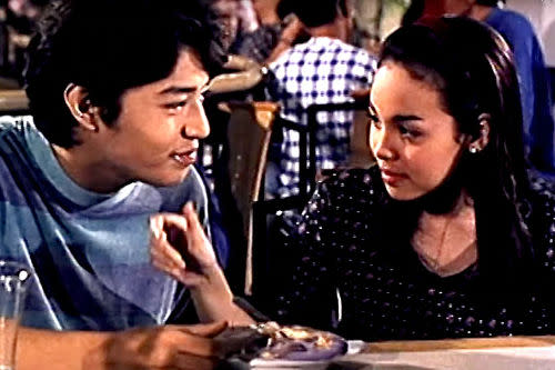 Claudine and Mark Anthony as young stars