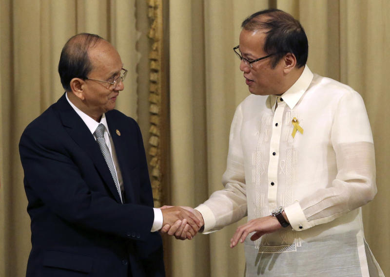 Myanmar's president asks Philippines for more aid
