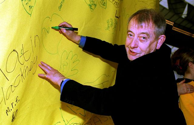 Derek Fowlds at the Millennium Dome, south London (Michael Crabtree - PA Images/PA Images via Getty Images)