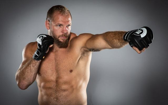 James Haskell has worked as an MMA TV pundit for a number of years - Bellator