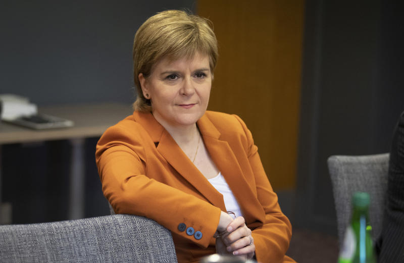 <p>Ms Sturgeon said if the PM fails to get her Brexit deal through Parliament, it might be possible to renegotiate and keep the UK in the single market.</p>