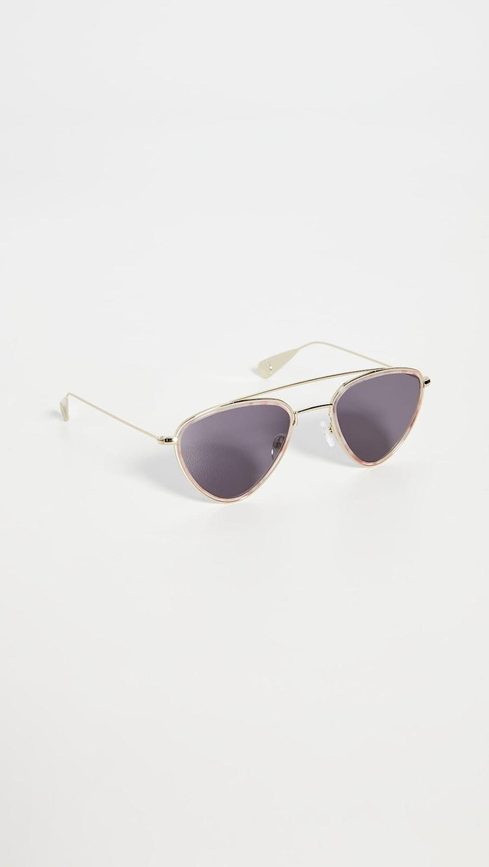 <p>These <span>Lyndon Leone Biscayne R Sunglasses</span> ($60) look sleek and modern.</p>