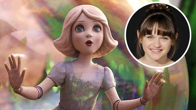China Girl is played by Joey King in 'Oz the Great and Powerful'