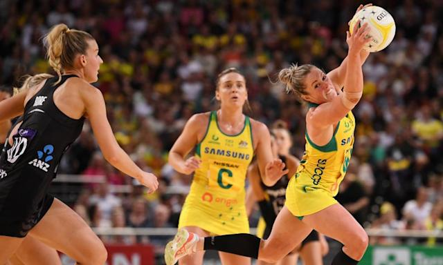 """<span class=""""element-image__caption"""">Diamonds players can earn approximately $30,000 if they take part in all international games in a season.</span> <span class=""""element-image__credit"""">Photograph: Dean Lewins/AAP</span>"""