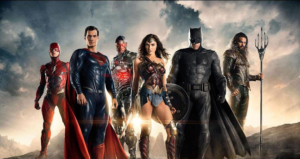 "<p>Forget about putting Batman and Superman in one movie: Justice League combines the forces of Batman, Superman, Wonder Woman, Aquaman, Cyborg <em>and</em> The Flash. What could bring all of these ""metahumans"" together in one mission? The villainous Steppenwolf and his army of demons. An <a href=""https://www.esquire.com/entertainment/movies/a29829942/what-is-the-snyder-cut-justice-league-movie/"" rel=""nofollow noopener"" target=""_blank"" data-ylk=""slk:internet-fan-demanded director's cut"" class=""link rapid-noclick-resp"">internet-fan-demanded director's cut</a> is coming to HBO Max sometime in 2021, so you have another excuse to do a re-watch.</p><p><a class=""link rapid-noclick-resp"" href=""https://www.amazon.com/Justice-League-Ben-Affleck/dp/B077H5Z3YC?tag=syn-yahoo-20&ascsubtag=%5Bartid%7C10063.g.35128363%5Bsrc%7Cyahoo-us"" rel=""nofollow noopener"" target=""_blank"" data-ylk=""slk:WATCH ON AMAZON"">WATCH ON AMAZON</a> <a class=""link rapid-noclick-resp"" href=""https://go.redirectingat.com?id=74968X1596630&url=https%3A%2F%2Fwww.hbomax.com%2F&sref=https%3A%2F%2Fwww.redbookmag.com%2Flife%2Fg35128363%2Fdc-movies-in-order%2F"" rel=""nofollow noopener"" target=""_blank"" data-ylk=""slk:WATCH ON HBO MAX"">WATCH ON HBO MAX</a></p>"