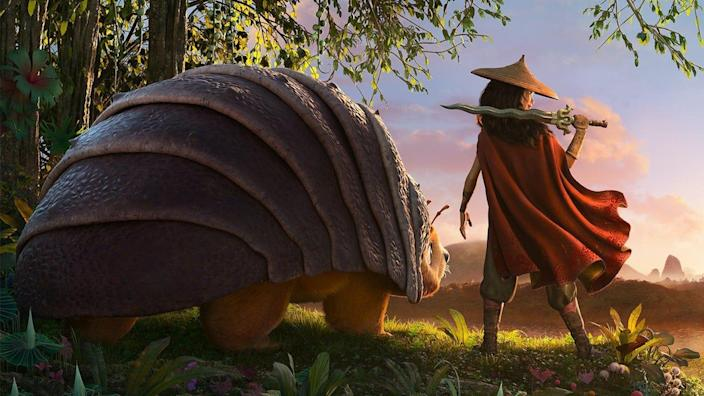 This epic adventure film is Disney's first theatrical release of 2021.