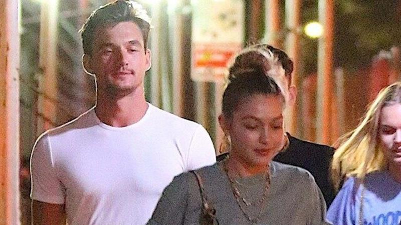 The pair's meet-up came hours before Hannah Brown opened up about her 'struggles' post-'Bachelorette.'