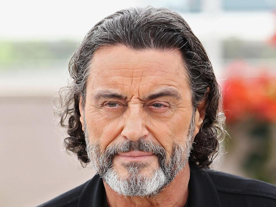 Actor Ian McShane attends the 64th Cannes Film Festival (Getty)