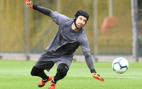 Cech looks likely to retain his place in goal against Chelsea on Saturday - Credit: ARSENAL FC