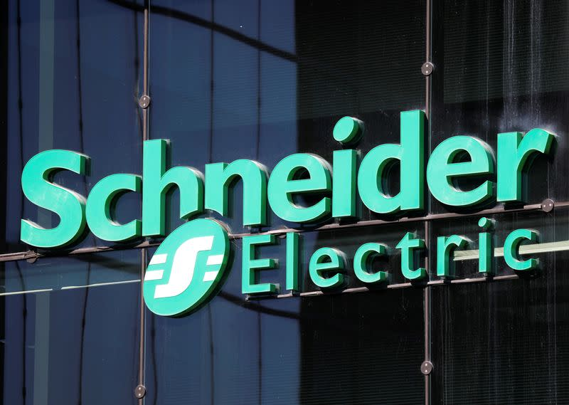 Schneider Electric first-quarter sales beat expectations, flags shutdown impact