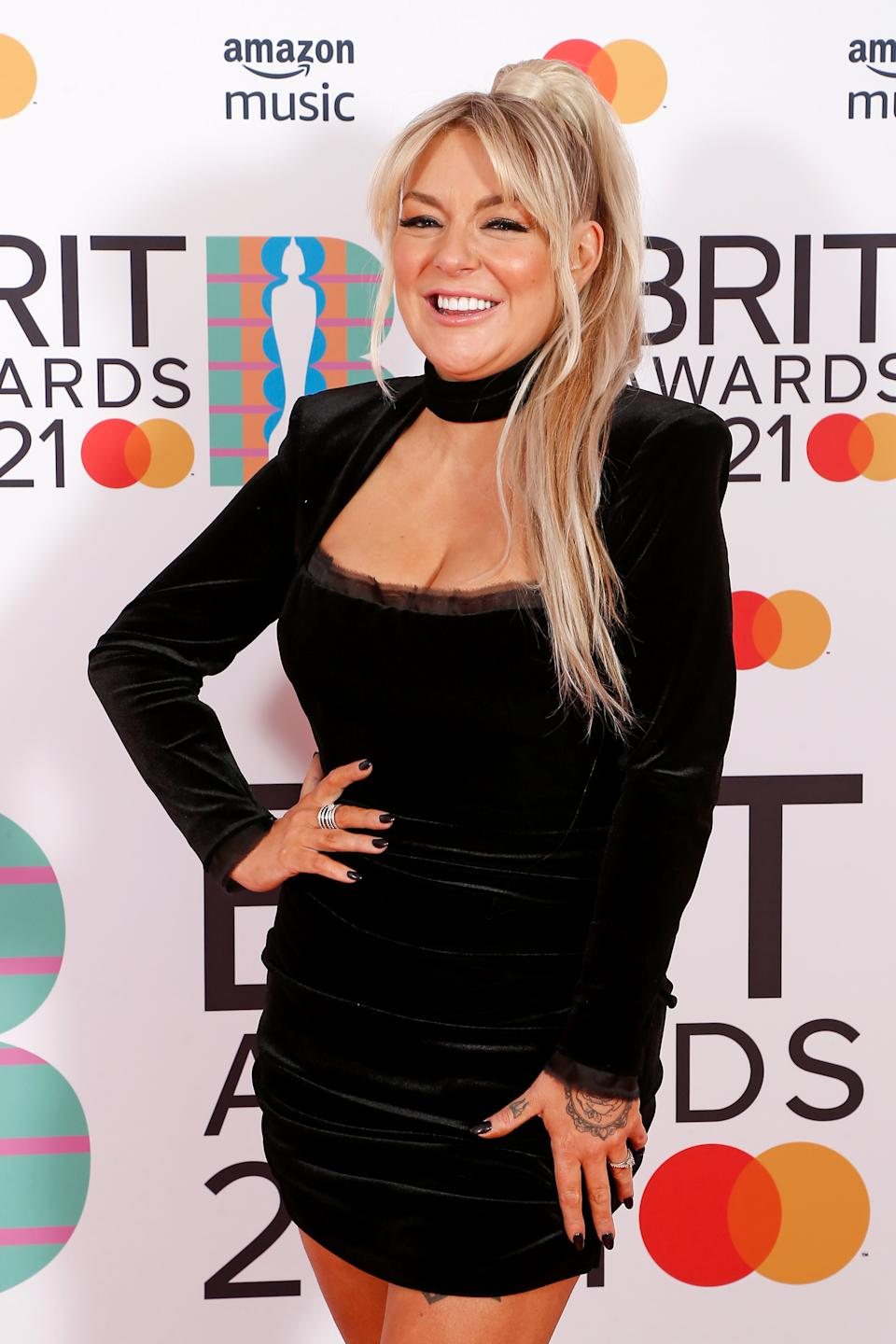 LONDON, ENGLAND - MAY 11: Sheridan Smith attends The BRIT Awards 2021 at The O2 Arena on May 11, 2021 in London, England. (Photo by JMEnternational/JMEnternational for BRIT Awards/Getty Images)