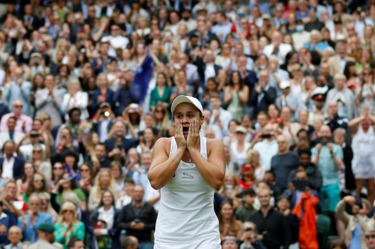 Wimbledon women's champion Ashleigh Barty says she would be very very happy if she could be half the person fellow indigenous Australian and two-time Wimbledon winner Evonne Goolagong Cawley is