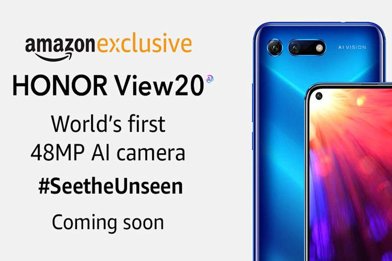 Honor View 20 With 48-Megapixel Rear Camera to Launch in India For Nearly Rs 40,000