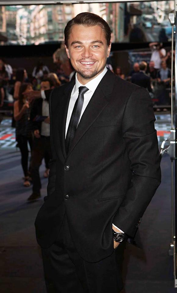 "With three Academy Award nominations under his belt, 36-year-old Leo looks likely to add a fourth Oscar nod to his tally thanks to his starring role in the mind-bending thriller ""Inception."" Jon Furniss/<a href=""http://www.wireimage.com"" target=""new"">WireImage.com</a> - July 8, 2010"