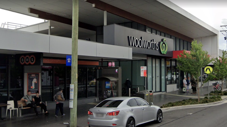 A Google street view of a Woolworths store in Berala.