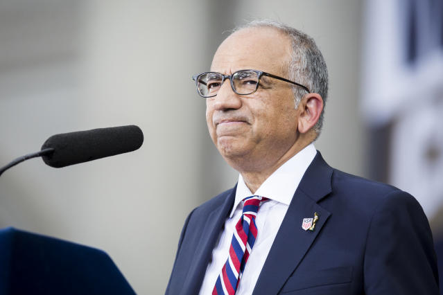 U.S. Soccer President Carlos Cordeiro sent out a letter and factsheet on Monday arguing his side of the equal pay issue. (Getty)