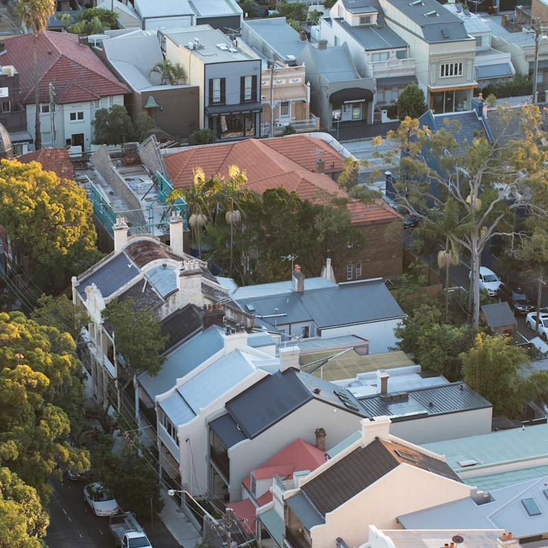 Residential streets in Bondi Junction. Source: Getty