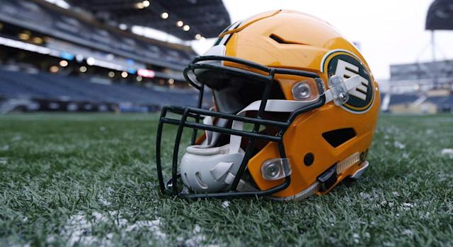 Winnipeg mayor Brian Bowman suggested the Edmonton Eskimos consider a name change ahead of the CFL's west semifinal. (THE CANADIAN PRESS/John Woods)
