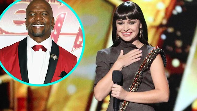 Agt The Champions Host Terry Crews Slams Golden Buzzer For Jaw Dropping Sand Artist