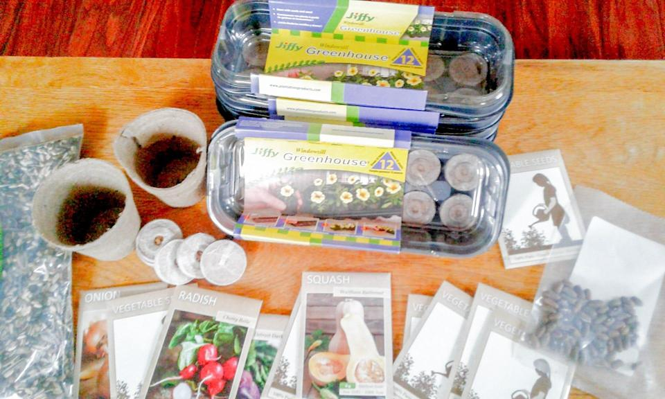 The Grow Kits are one of many initiatives from Black Soil KY. The kits are given to middle and high school students to inform the younger generation about farming and agriculture.