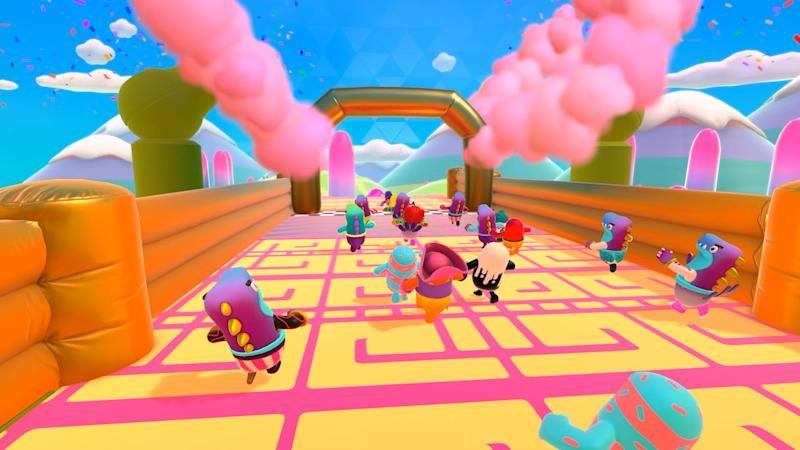 Fall Guys suffers chaotic launch with server issues and two-way review bombs