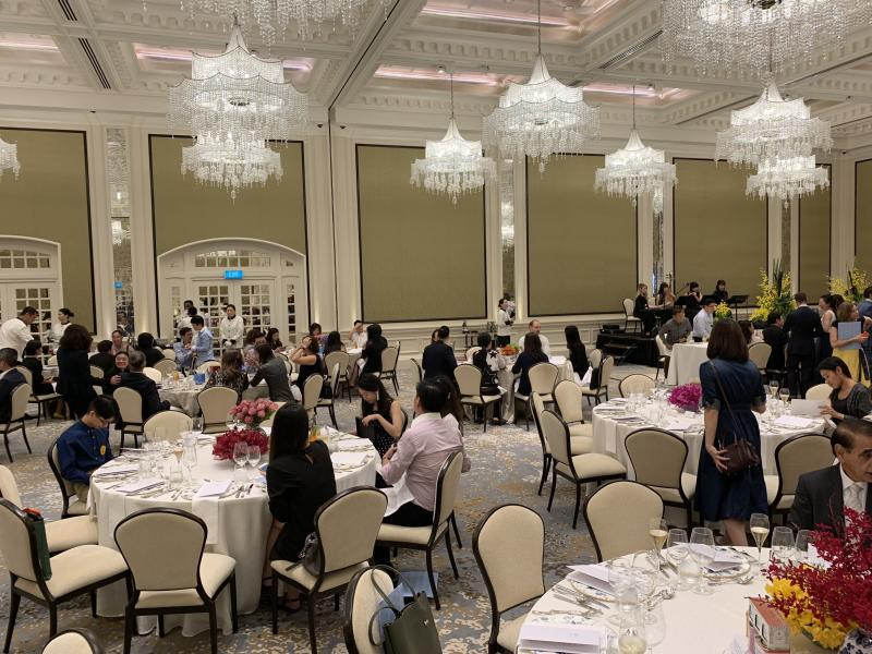 Jubilee Ballroom at Raffles Arcade at Raffles Hotel on 11 July 2019. (PHOTO: Teng Yong Ping / Yahoo Lifestyle Singapore)