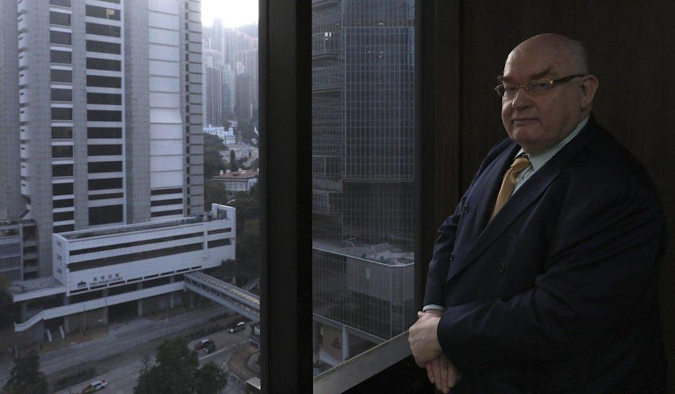 Philip Dykes, who stepped down as head of the Hong Kong Bar Association earlier this month. Photo: Nora Tam