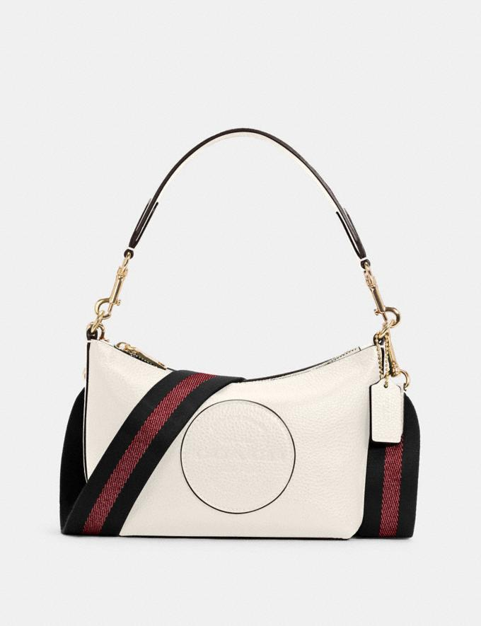 Dempsey Shoulder Bag With Patch. Image via Coach Outlet.