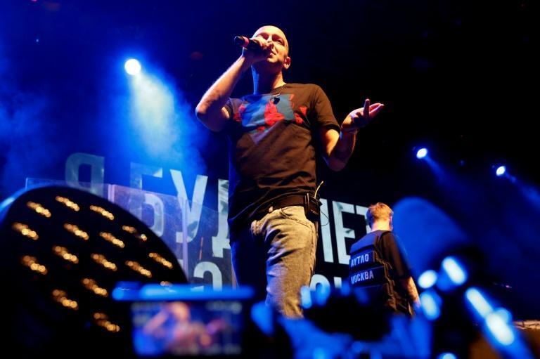 Rapper Oxxxymiron, not previously known for his political views, has come out in support of Yegor Zhukov (AFP Photo/Maxim ZMEYEV)