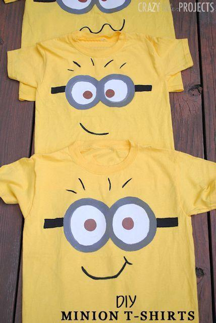 """<p>Want to keep it super simple this Halloween? DIY a Minion T-shirt instead of an elaborate costume.</p><p><strong>Get the tutorial at <a href=""""https://crazylittleprojects.com/diy-minion-shirt-kids/"""" rel=""""nofollow noopener"""" target=""""_blank"""" data-ylk=""""slk:Crazy Little Projects"""" class=""""link rapid-noclick-resp"""">Crazy Little Projects</a>. </strong> </p><p><a class=""""link rapid-noclick-resp"""" href=""""https://www.amazon.com/Joes-USA-Heavyweight-Cotton-T-Shirt/dp/B00T82BH76/ref=sr_1_3?tag=syn-yahoo-20&ascsubtag=%5Bartid%7C10050.g.28305850%5Bsrc%7Cyahoo-us"""" rel=""""nofollow noopener"""" target=""""_blank"""" data-ylk=""""slk:SHOP YELLOW T-SHIRTS"""">SHOP YELLOW T-SHIRTS</a></p>"""