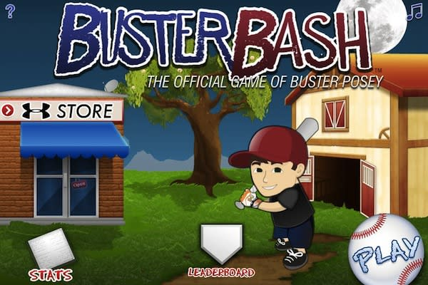 Buster Posey Is First Baseball Player to Launch Mobile Game