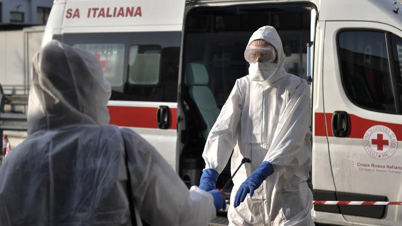 Italy records smaller increase in coronavirus cases for second day