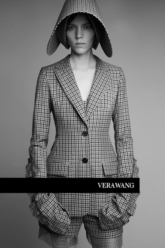 <p><strong>Model:</strong> Freja Beha Erichsen<br><strong>Photographer:</strong> Patrick Demarchelier<br><strong>Stylist:</strong> Panos Yiapanis<br> (Photo: Courtesy of Vera Wang) </p>
