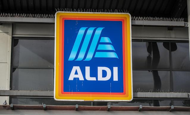 An Aldi store in Marsh Lane Bootle, Liverpool, England. (Peter Byrne/PA via Getty Images)