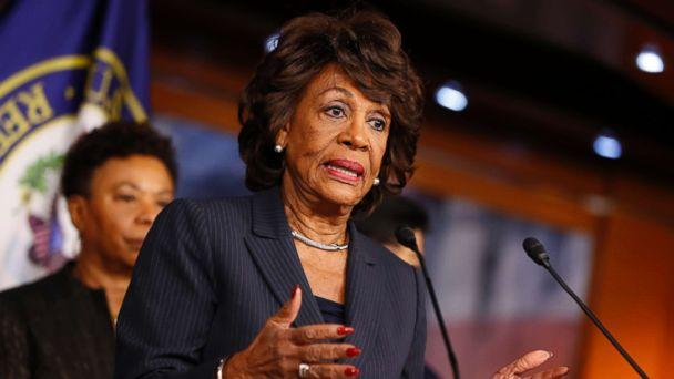 PHOTO: Rep. Maxine Waters speaks at a press conference on Capitol Hill, Jan. 31, 2017 in Washington, D.C. (Aaron P. Bernstein/Getty Images, FILE)