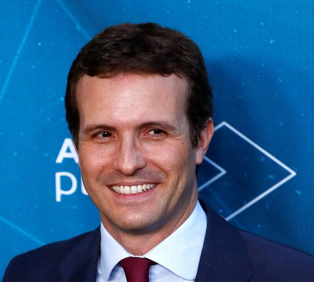 People's Party (PP) candidate Pablo Casado.