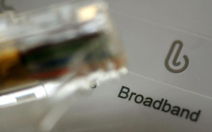 Uswitch said it had seen searches shift from cheap to fast broadband packages - PA