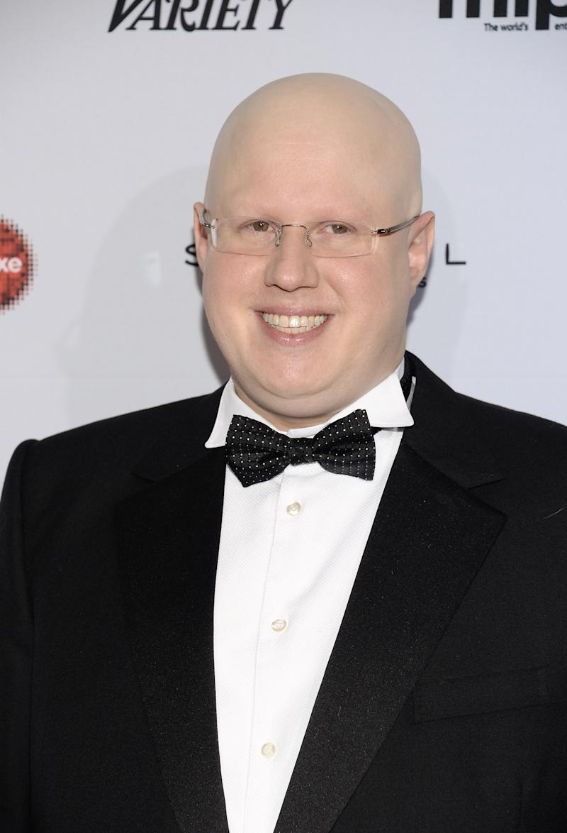 Matt Lucas attends the International Emmy Awards gala at the New York Hilton on Monday, Nov. 24, 2014, in New York. (Photo by Evan Agostini/Invision/AP)