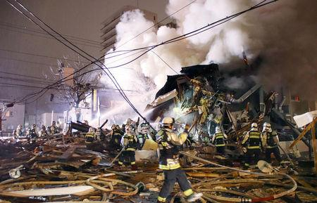 More than 40 hurt in explosion in Japan's Sapporo: Kyodo