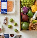 """<p><a class=""""link rapid-noclick-resp"""" href=""""https://go.redirectingat.com?id=74968X1596630&url=https%3A%2F%2Fwww.blueapron.com%2F&sref=https%3A%2F%2Fwww.esquire.com%2Ffood-drink%2Ffood%2Fg29211167%2Fbest-food-subscription-boxes%2F"""" rel=""""nofollow noopener"""" target=""""_blank"""" data-ylk=""""slk:Subscribe"""">Subscribe</a></p><p><em>From $40 per week, blueapron.com</em><br> <br>Blue Apron is like the Netflix of food subscription boxes—a pioneer in a presently crowded market. It offers signature, vegetarian, and Weight Watchers menu options, all comprised of sustainable, non-GMO ingredients.<br></p>"""
