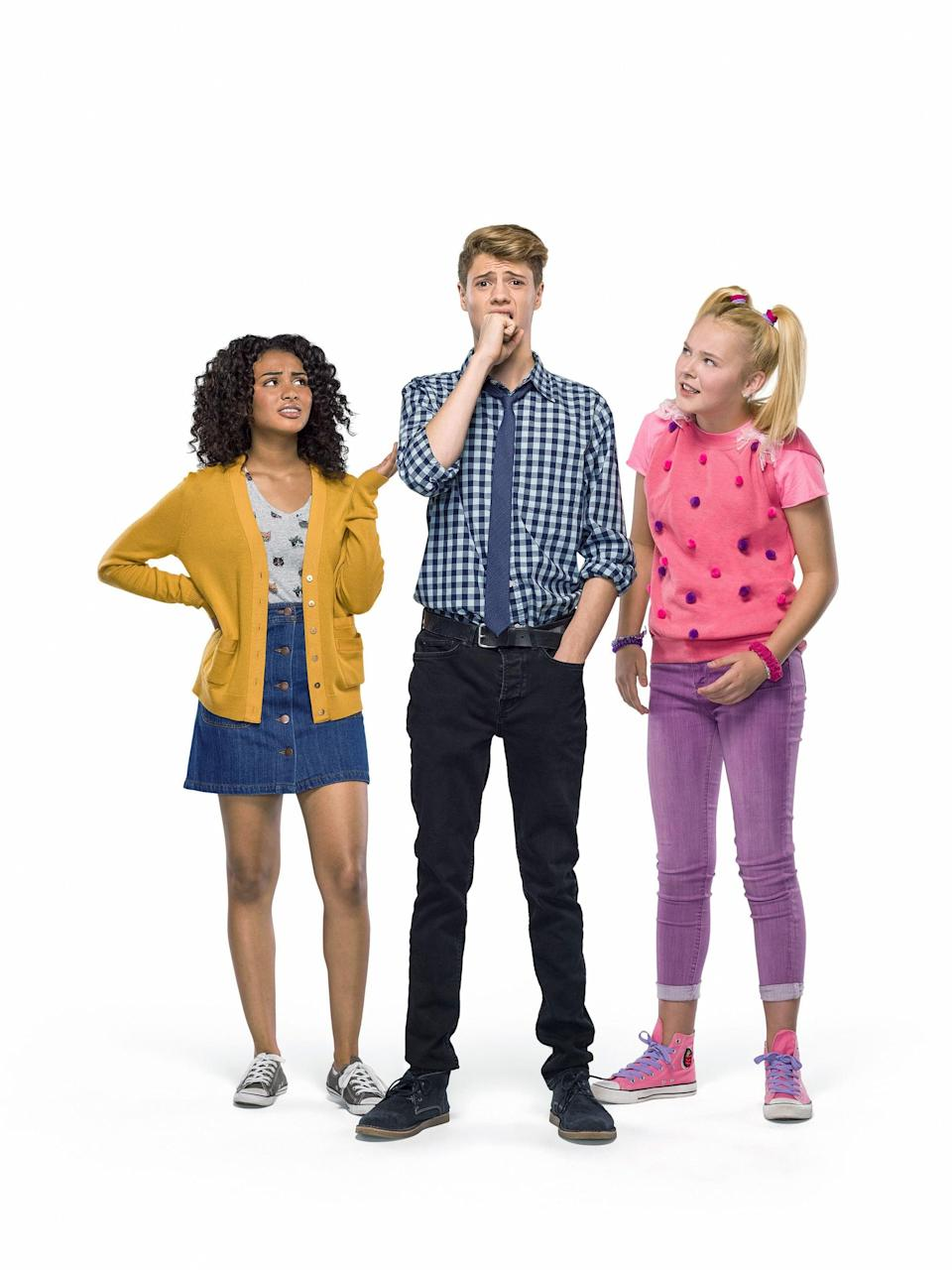 """<p><strong>Hulu's Description:</strong> """"Nice guy Jeremy (Jace Norman) loses his ability to keep his thoughts to himself and can't help but say everything out loud. The only way to fix his problem will be the hardest thing he'll have to do: win the school election.""""</p> <p><span>Stream <strong>Blurt</strong> on Hulu!</span></p>"""