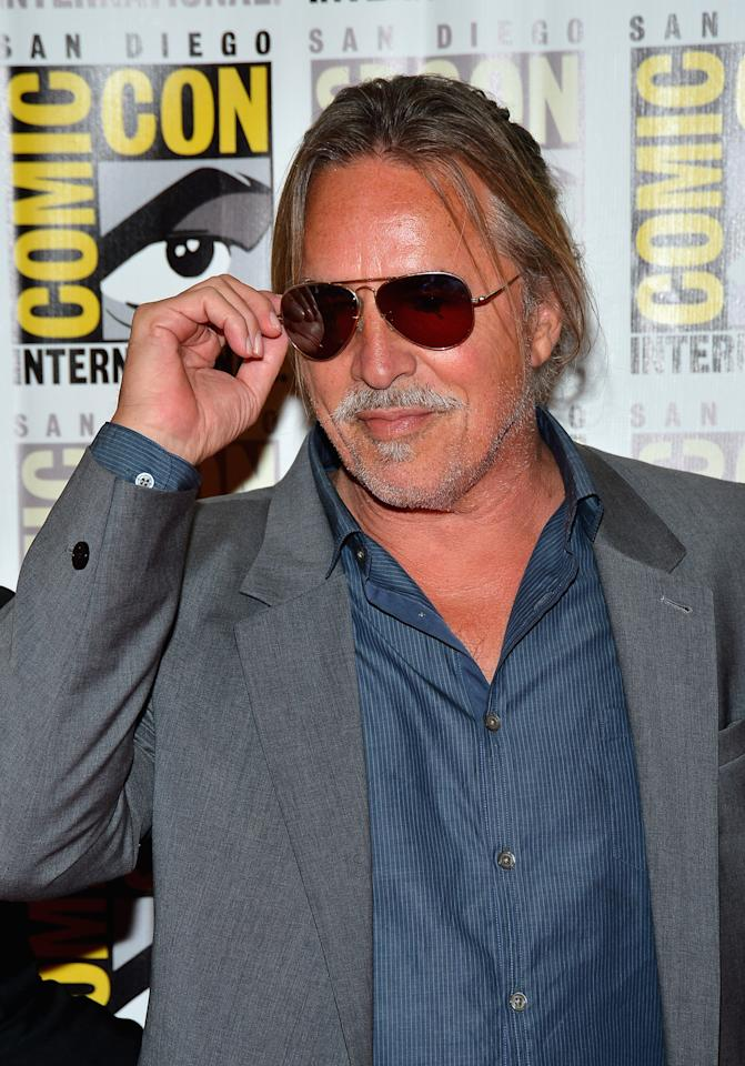 """SAN DIEGO, CA - JULY 14:  Actor Don Johnson attends """"DJango Unchained"""" Press Line during Comic-Con International 2012 at Hilton San Diego Bayfront Hotel on July 14, 2012 in San Diego, California.  (Photo by Frazer Harrison/Getty Images)"""