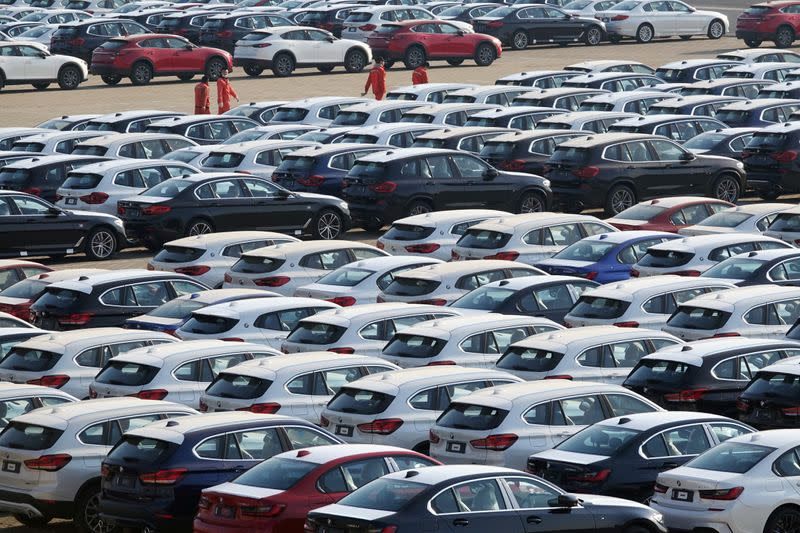 Surging truck sales boost China's auto sector revival in June as economy upshifts